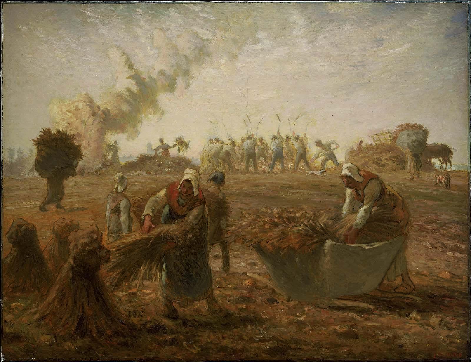 Buckwheat Harvest, Summer – Works – Museum of Fine Arts, Boston